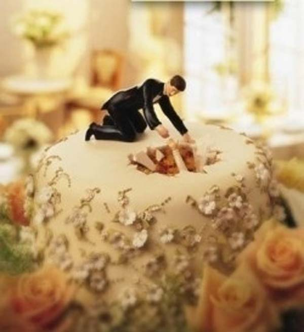 14.) Bahkan jika itu adalah puncak kue yang lucu