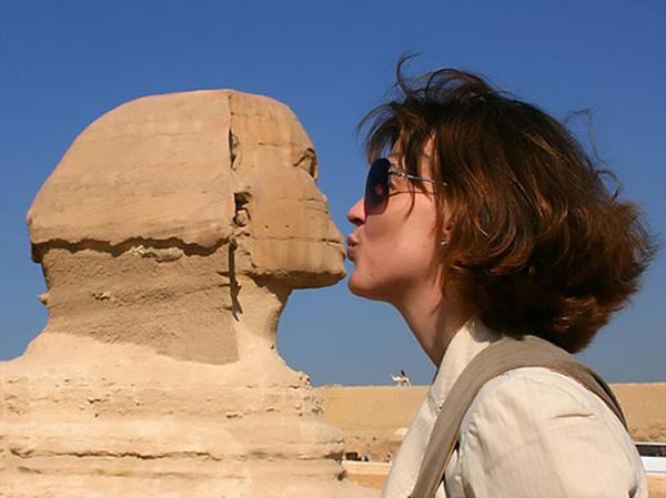 1.) That little sphinx!