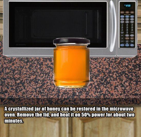 8.)用这种方法修复旧蜂蜜。