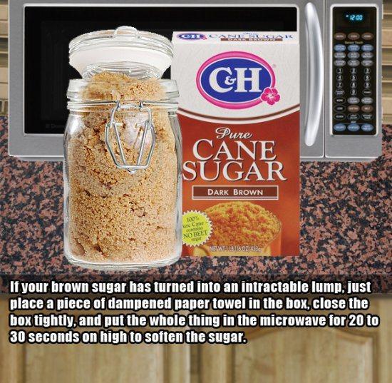 3.)再次使讨厌的红糖变好。