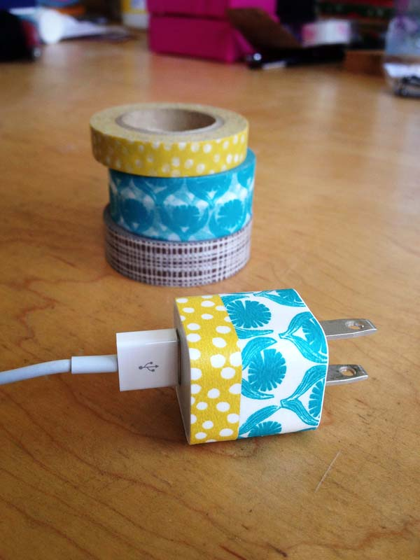 Or Washi Tape (which is colored masking tape).