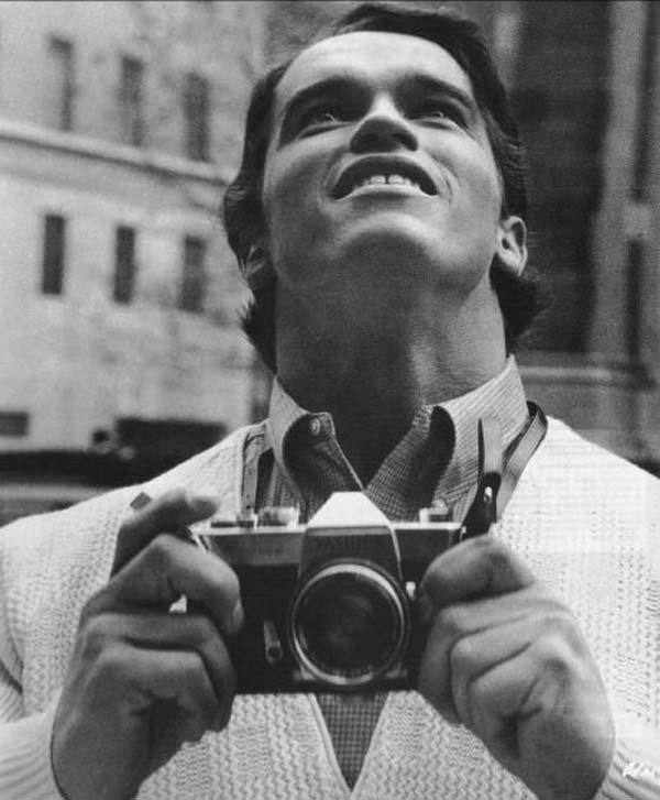 13.)阿诺·施瓦辛格(Arnold Schwarzenegger)第一次见到纽约(1968)。