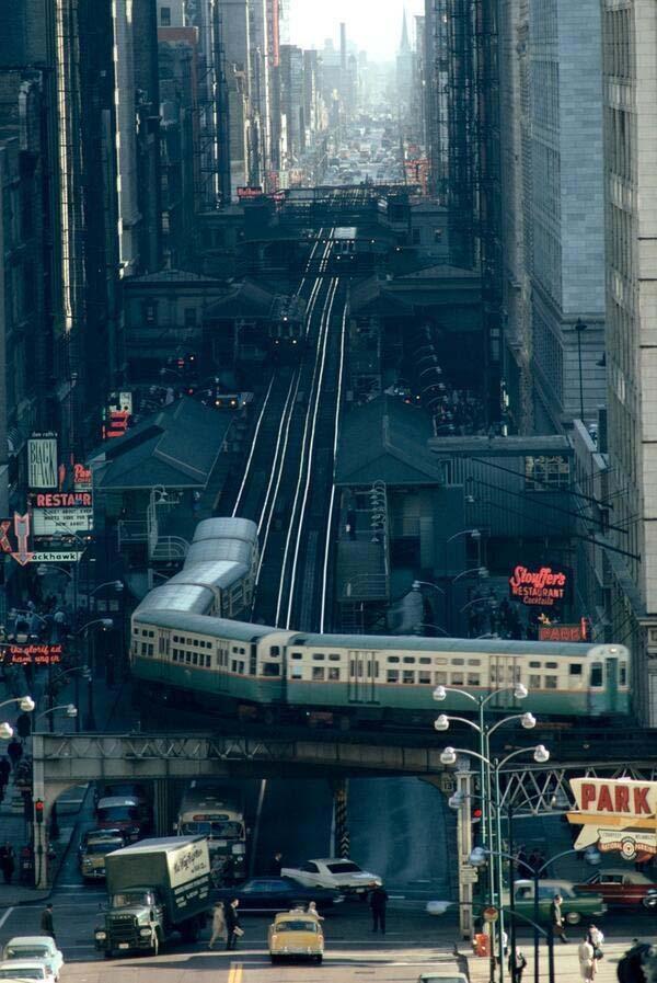 10.)芝加哥的街道(1967)。