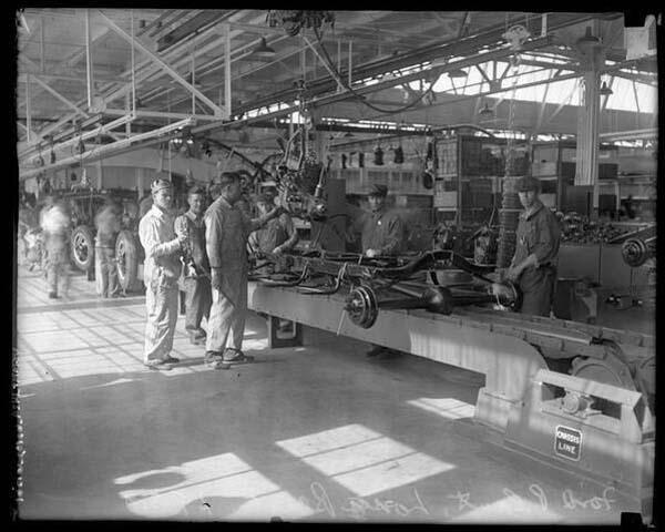 5.)美国第一家福特汽车制造厂(1926年)。
