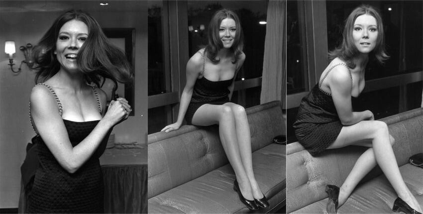 Diana Rigg (Olenna Tyrell from Game of Thrones) in 1967.