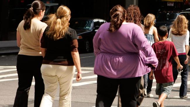 每3名美国人中就有1名肥胖。