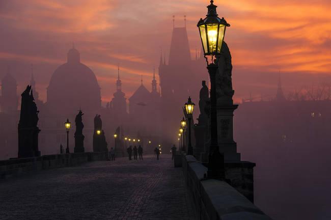 查理大桥,布拉格,捷克共和国