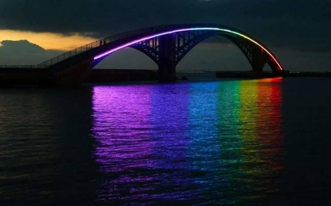 台湾澎湖西营彩虹桥