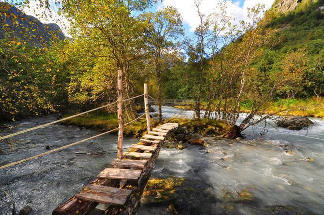 这个小木桥