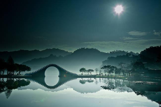 台湾台北市月亮桥