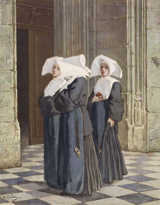 Meowing nuns