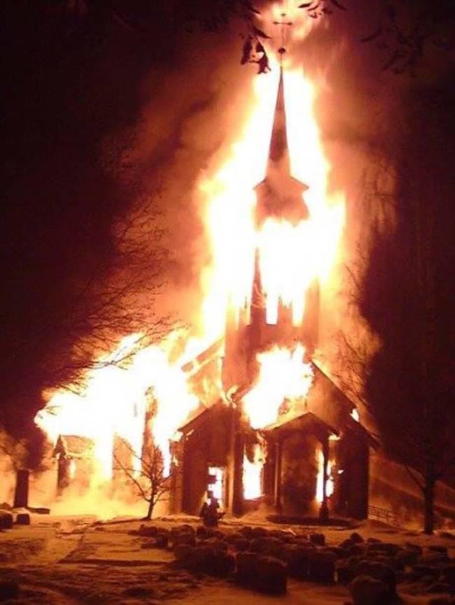 Black Metal Church Burnings