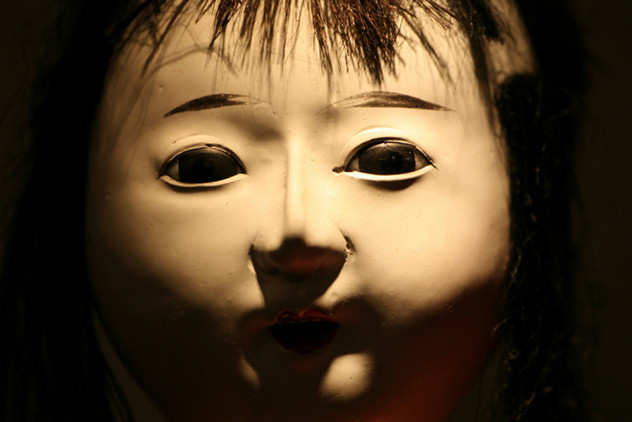 The Okiku: This doll is named after her 2-year-old owner that tragically died. The family prayed to it daily until one day, the doll's hair began to grow, reaching 10 inches long.