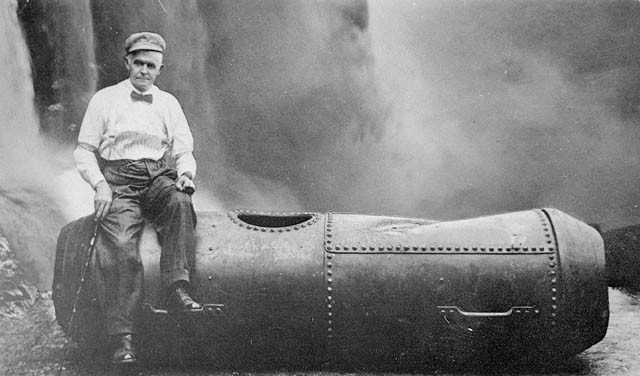 Bobby Leach, the daredevil who successfully survived the 180 foot drop of Niagara Falls, was done in by a 4 foot drop to the ground after he slipped on an orange peel. The fall broke his leg, which had to be amputated. He died from the complications.