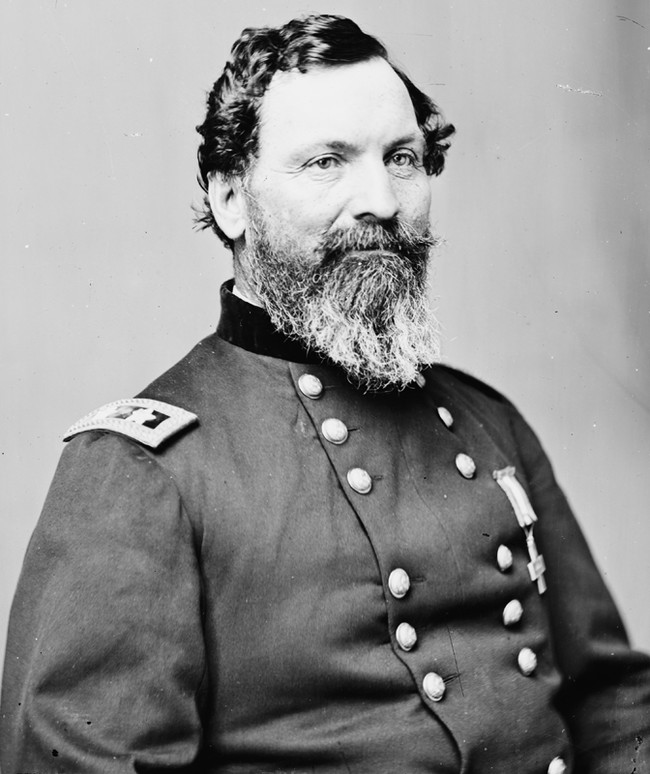 """Union general John Sedgwick chided his men as cowards for running away from Confederate bullets fired at them from 1,000 yards away. """"They couldn't hit an elephant at this distance,"""" he said...before a Rebel sharpshooter caught him in the eye."""