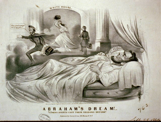 Before April 15, 1965, the day Lincoln was shot, Lincoln himself had a dream that might have predicted his fate...