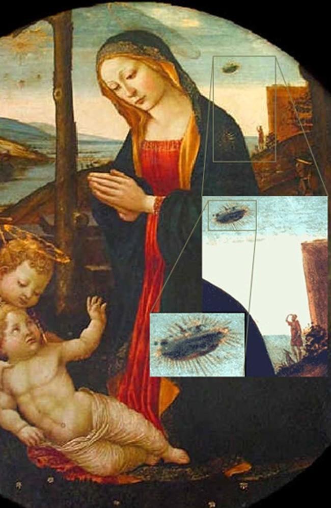 The Madonna With Saint Giovannino.