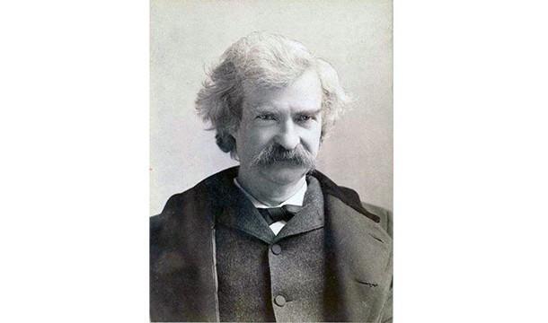 Mark Twain's comet-framed life.