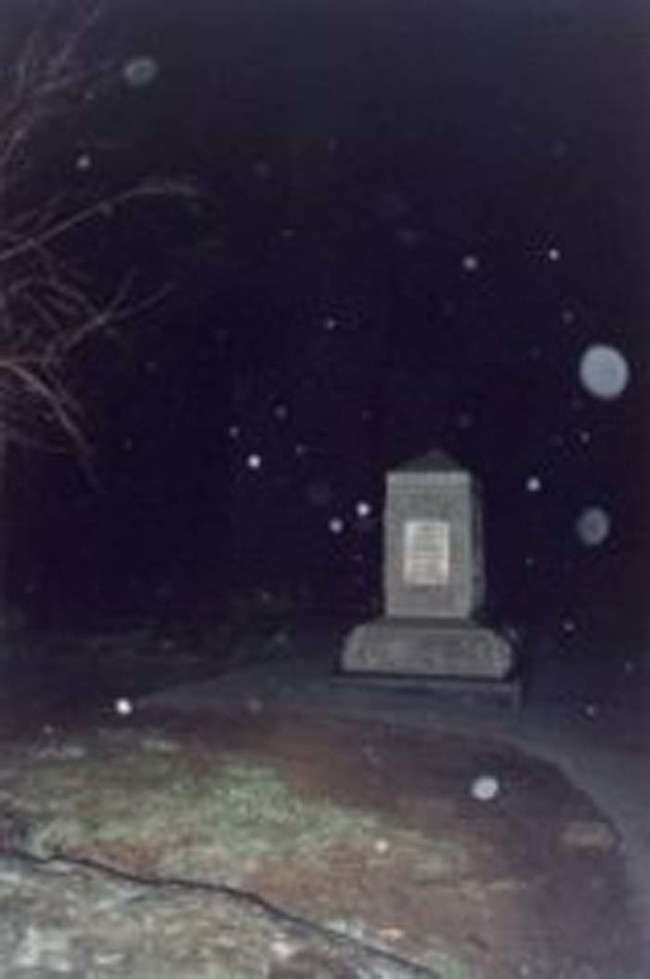 Orbs do not necessarily indicate ghosts. They're simply the result of using your camera's flash in low light conditions.