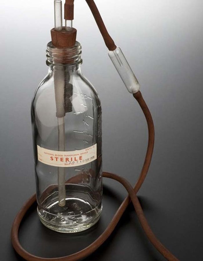 This what they used to use for blood transfusions.