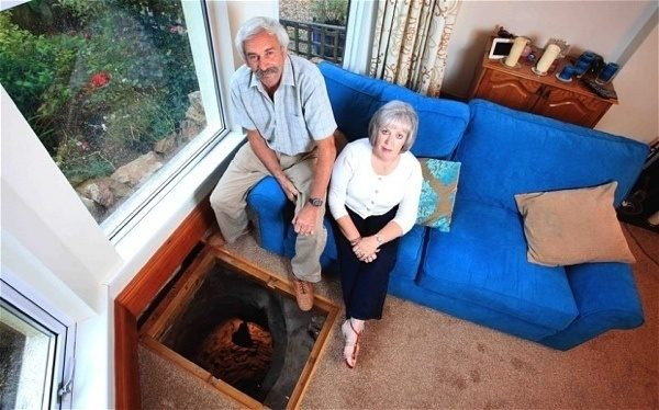 These people found a medieval well beneath their floorboards.