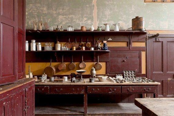 This homeowner found an entire servants' kitchen in their basement.