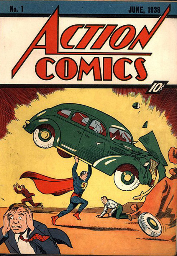 This old comic book was found in a wall. It was then sold at auction for $175,000.