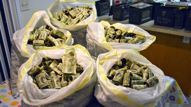 One man in Utah found giant trash bags full of money and gave them back to the rightful owner.