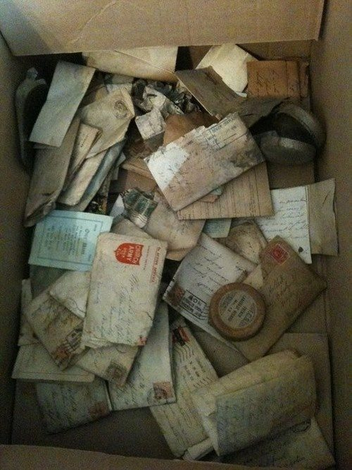 One man found love letters from a WWI soldier hidden in his wall.