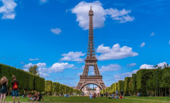The top of the Eiffel Tower can lean up to 7 inches due to the sun expanding the metal it's made out of.