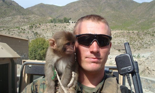 During World War I, a monkey was promoted to corporal.