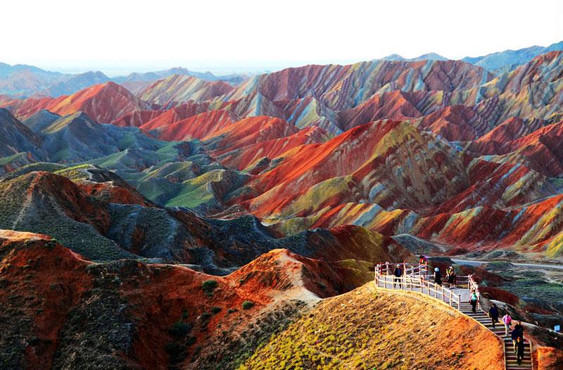 Zhangye Danxia Landform - China