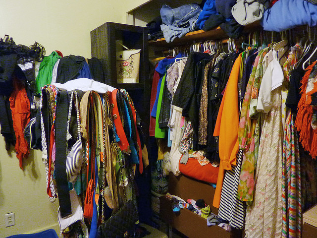 According to another survey, women spend about a year of their lives deciding what to wear.