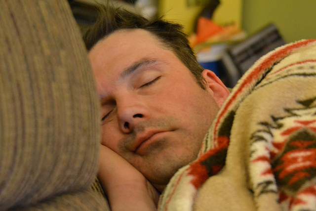 The average human needs at least seven hours of sleep a night.
