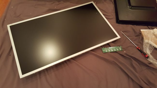 If you were wondering, this is what an exposed monitor looks like. Pretty sleek, right?
