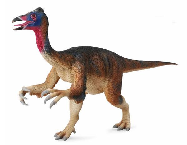 "12.)Deinocheirus:该生物只有少量化石遗骸,包括两个前肢和一些椎骨。 它的名字意思是""可怕的手""。"
