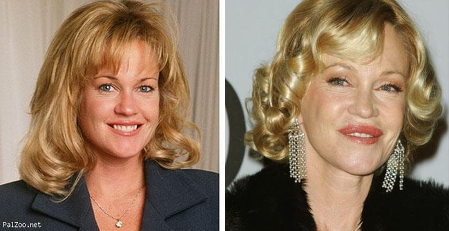 Melanie Griffith, you're a whole new woman.