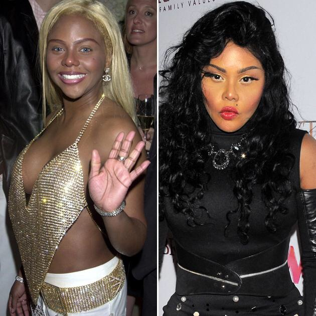 Lil Kim, who you might not have recognized without this caption.