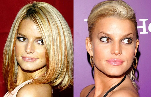 I wonder why Jessica Simpson isn't a spokeswoman for Chicken by the Sea.