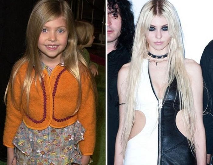 Taylor Momsen - 2000 and now.
