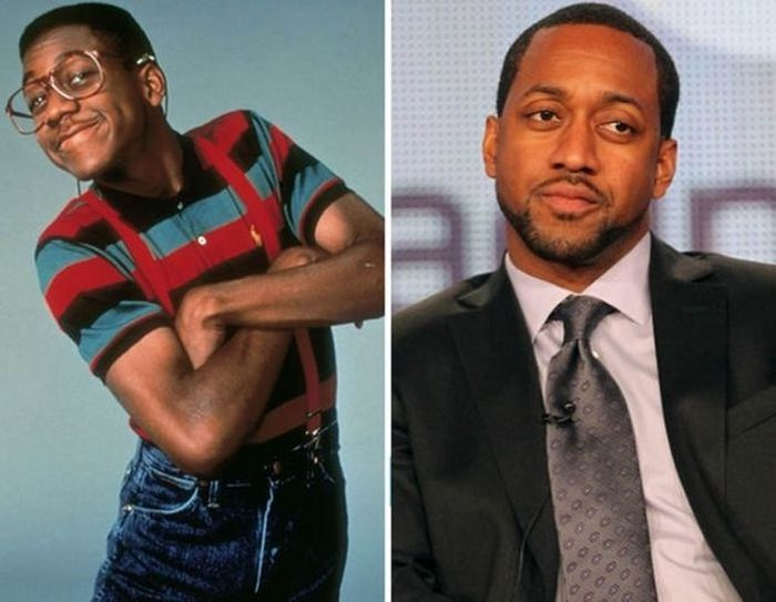 Jaleel White - 1990 and now.