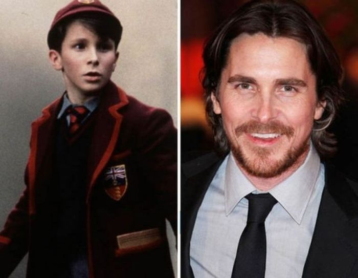 Christian Bale - 1997 and now.