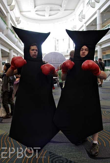 9.) Tie Fighters