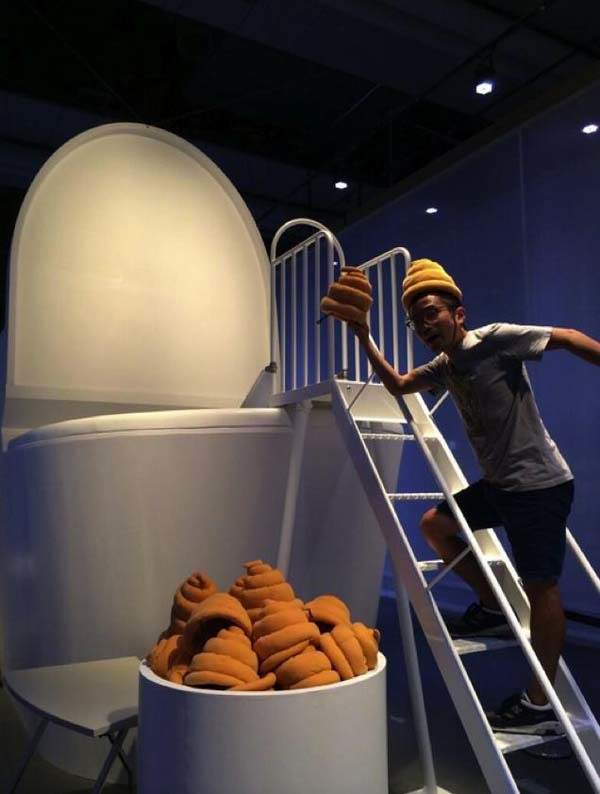 """They take this """"toilet museum"""" thing very seriously."""