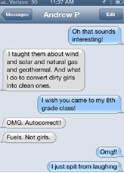Naughty text conversations