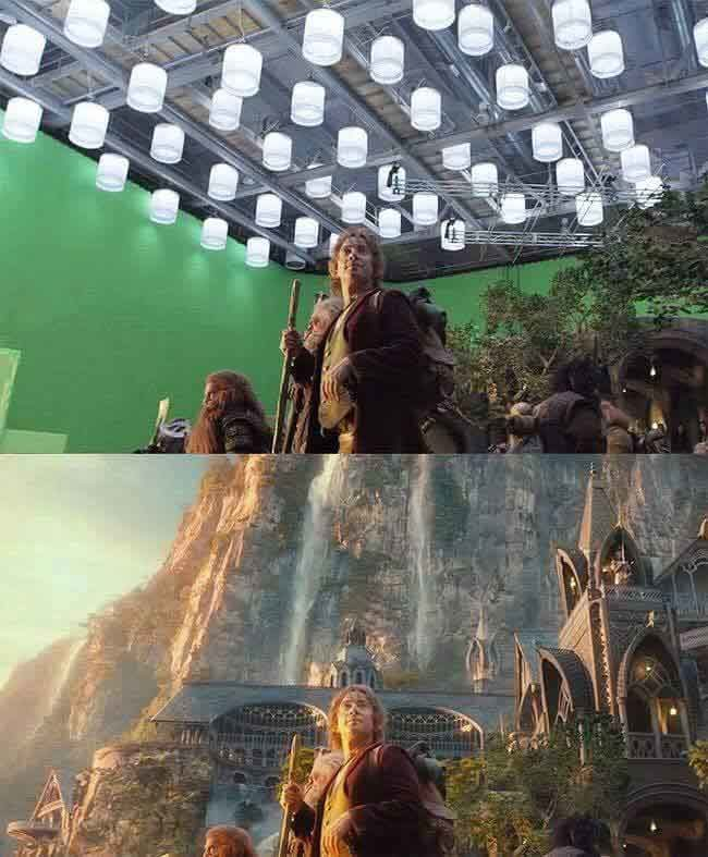 We'll never watch The Hobbit the same way again.